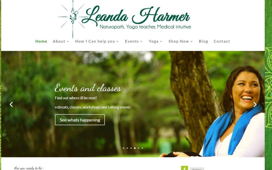 Website Design – Leanda Harmer
