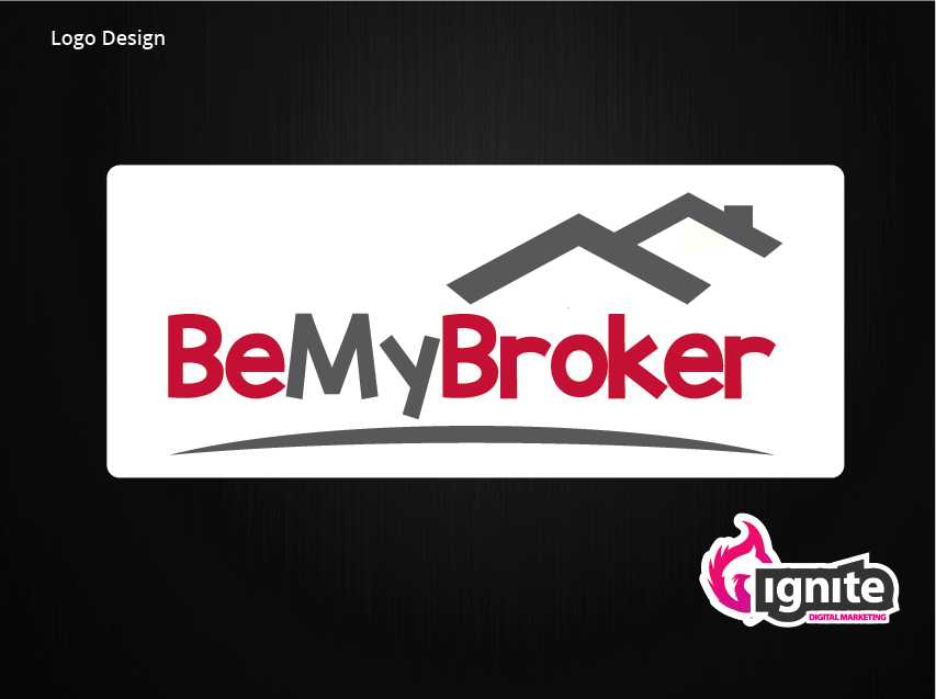 be-my-broker-logo-design