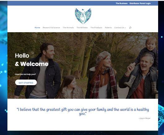Website Design – BioHacking Global
