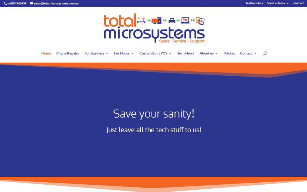 Website Design – Total Microsystems